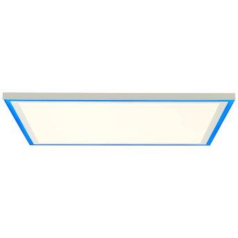Brilliant Lanette Aufbaupaneel LED Weiß, 1-flammig, Fernbedienung, Farbwechsler