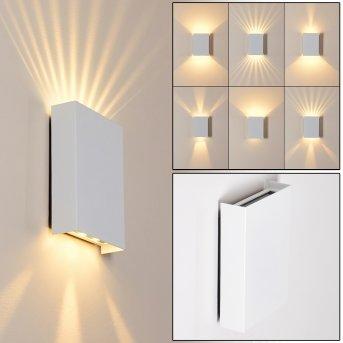 Benin Außenwandleuchte LED Weiß, 2-flammig