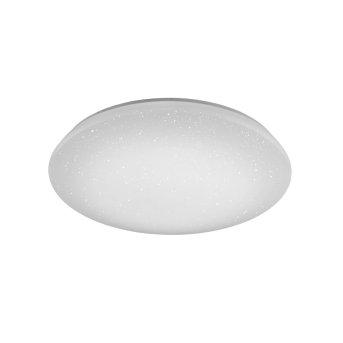 Trio Leuchten WiZ NALIDA Deckenleuchte LED Weiß, 1-flammig, Fernbedienung, Farbwechsler