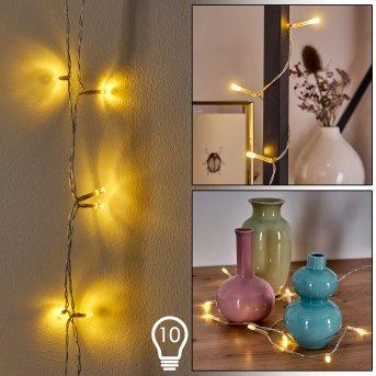 Sondrio Lichterkette LED, 10-flammig