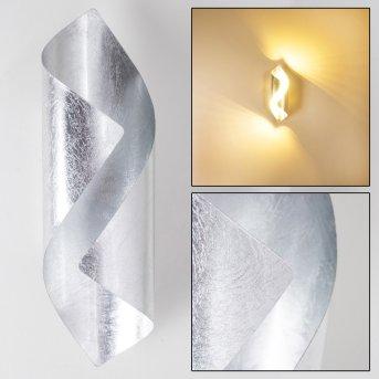 Wandleuchte Ogarrio LED Silber, 2-flammig