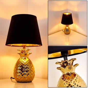 Pina Tischleuchte Gold, 1-flammig