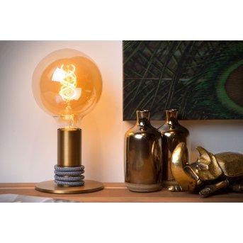 Lucide MARIT Tischlampe Gold, 1-flammig