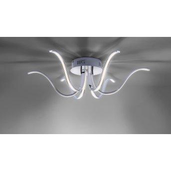 Leuchten Direkt Deckenleuchte VALERIE LED Chrom, 6-flammig