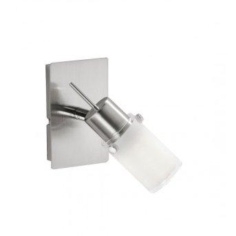 Leuchten Direkt MAX LED Wandleuchte Edelstahl, 1-flammig