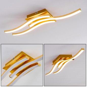 Grossarl Deckenleuchte LED Gold, 1-flammig
