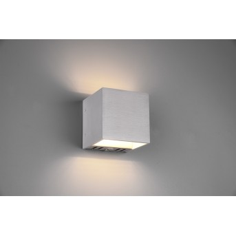 Trio Figo Wandleuchte LED Aluminium, 1-flammig, Fernbedienung, Farbwechsler