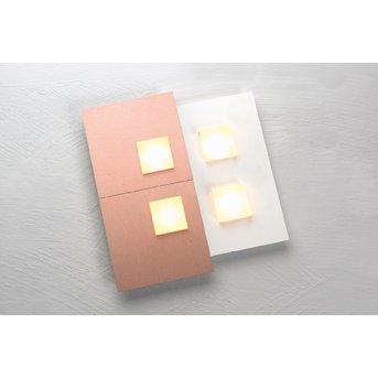 Bopp PIXEL 2.0 Wandleuchte LED Weiß, 4-flammig