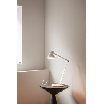 Louis Poulsen NJP Tischleuchte LED Weiß, 1-flammig