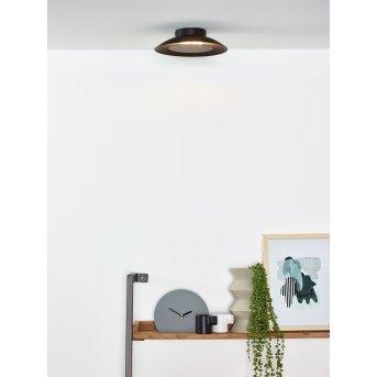 Lucide FOSKAL Deckenleuchte LED Schwarz