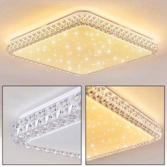 Fagernes Deckenpanel LED Weiß, 1-flammig