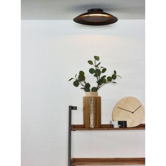 Lucide FOSKAL Deckenleuchte LED Schwarz, 1-flammig