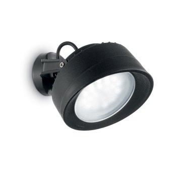 Ideal Lux TOMMY Aussenwandleuchte Schwarz, 1-flammig