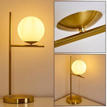 Hogatza Tischleuchte Gold, 1-flammig