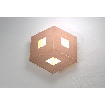 Bopp Leuchten BOX COMFORT Wandleuchte LED Gold, Rosa, 3-flammig