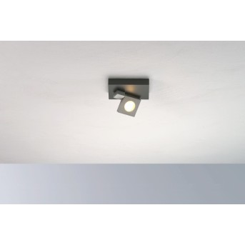 Bopp Flash Deckenleuchte LED Schwarz, Anthrazit, 1-flammig