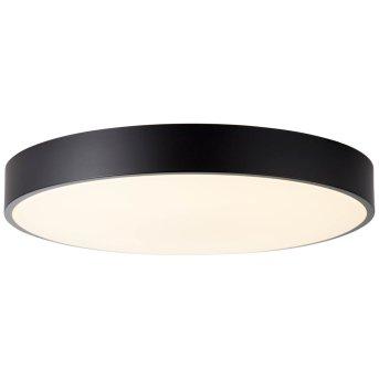 Brilliant Slimline Deckenleuchte LED Schwarz, 1-flammig, Fernbedienung
