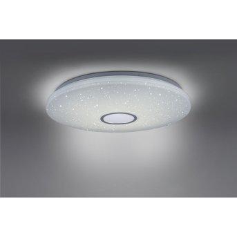 Leuchten Direkt JONAS Deckenleuchte LED Weiß, 1-flammig, Fernbedienung