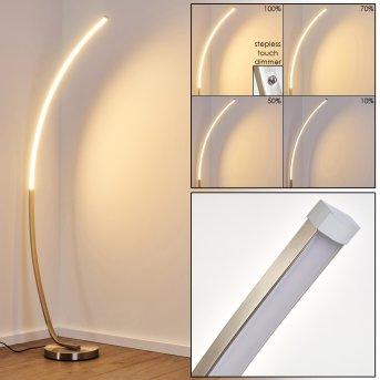 Antares Bogenlampe LED Nickel-Matt, 1-flammig