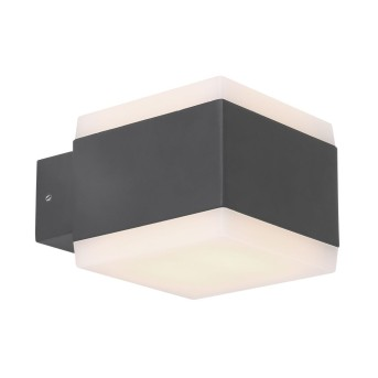 Globo SLICE Außenleuchte LED Anthrazit, 1-flammig, Farbwechsler