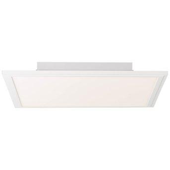 AEG Merrie Deckenleuchte LED Weiß, Beige, 1-flammig, Fernbedienung, Farbwechsler