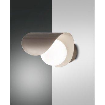 Fabas Luce Adria Wandleuchte LED Gold, 1-flammig