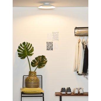 Lucide FOSKAL Deckenleuchte LED Weiß, 1-flammig