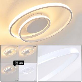 Leksund Deckenleuchte LED Weiß, 1-flammig