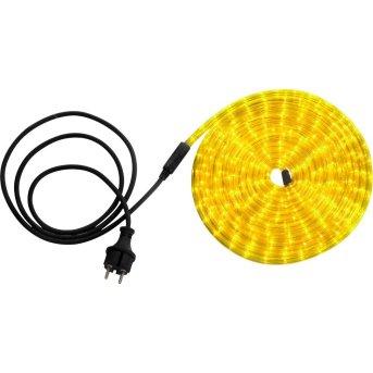 Globo LIGHT TUBE Lichtschlauch LED Transparent, Klar, 144-flammig