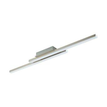 Eglo CONNECT FRAIOLI-C Deckenleuchte LED Nickel-Matt, 2-flammig, Farbwechsler