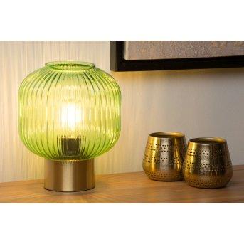Lucide MALOTO Tischlampe Grün, 1-flammig