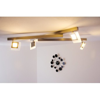 Bopp Leuchten LINE Deckenleuchte LED Aluminium, 4-flammig