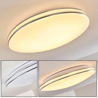 Genthin Deckenleuchte LED Weiß, 1-flammig
