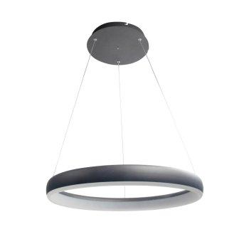WOFI CLINT Pendelleuchte LED Schwarz, 1-flammig, Fernbedienung