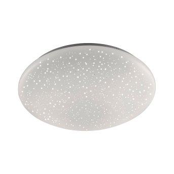 Leuchten Direkt Skyler Deckenleuchte LED Weiß, 1-flammig, Fernbedienung, Farbwechsler