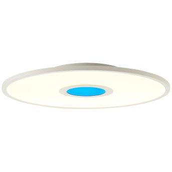 Brilliant Odella Aufbaupaneel LED Weiß, 1-flammig, Fernbedienung, Farbwechsler