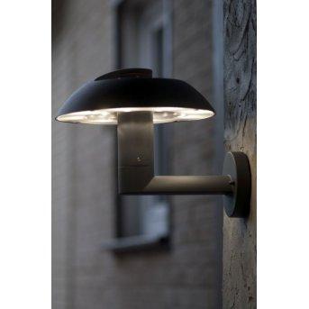LUTEC Spril Aussenwandleuchte LED Anthrazit, 6-flammig