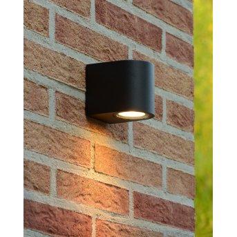Lucide ZORA-LED Außenwandleuchte Schwarz