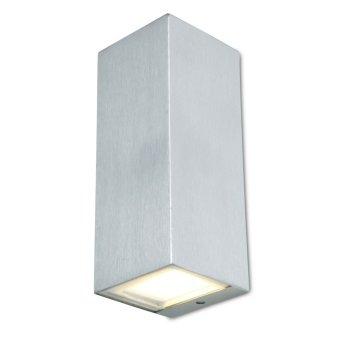 Lutec LUCA Aussenwandleuchte LED Edelstahl, 1-flammig