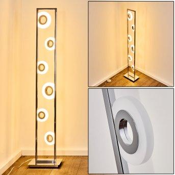 Obip Stehleuchte LED Chrom, 1-flammig