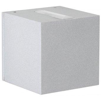 Albert Leuchten 2371 Außenwandleuchte LED Silber, 2-flammig