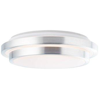 Brilliant Vilma Deckenleuchte LED Silber, 1-flammig, Fernbedienung, Farbwechsler
