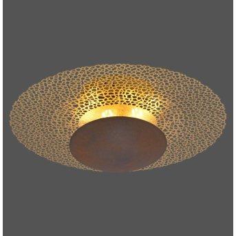 Paul Neuhaus NEVIS Deckenleuchte LED Rostfarben, 1-flammig