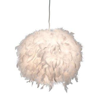 Nino Leuchten DUCKY Pendelleuchte Weiß, 1-flammig