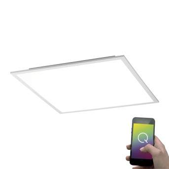 Paul Neuhaus Q-Flag Deckenpanel LED Weiß, 1-flammig, Fernbedienung