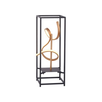 Paul Neuhaus SELINA Tischleuchte LED Schwarz, 1-flammig