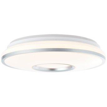 Brilliant Visitation Deckenleuchte LED Silber, 1-flammig, Fernbedienung, Farbwechsler