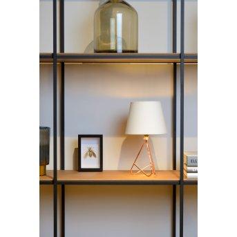 Lucide GITTA Tischlampe Kupferfarben, 1-flammig