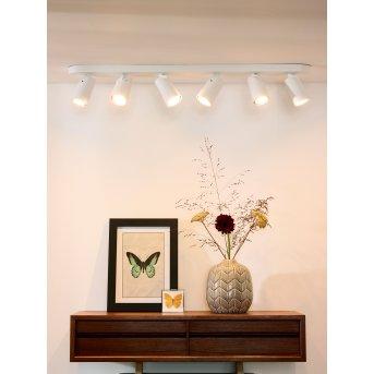 Lucide XYRUS Deckenspot LED Weiß, 6-flammig