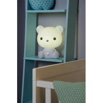 Lucide DODO Bear Tischlampe LED Weiß, 1-flammig